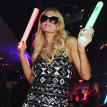 Ice Glows VIP Celebrities Paris Hilton Glow Party Las Vegas