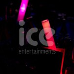 Ice Glows Nightclubs Bars Restaurants LED Light Foam Batons Nightclub Usage