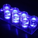 Ice Glows Product Packaging Glowing Shot Glasses Tray