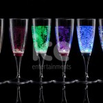 Ice Glows Product Packaging Light Emotions Champagne Flutes Glowing Assorted