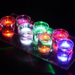 Ice Glows Product Packaging Light Emotions Mixed Coloured Light Up Shots